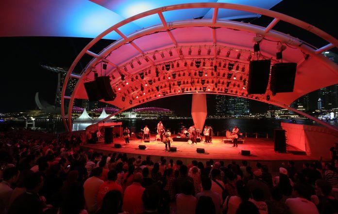 singapore esplanade outdoor theatre