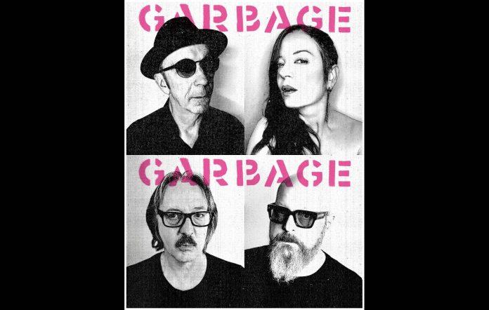 Garbage return with new album 'No Gods No Masters'. Credit: Press