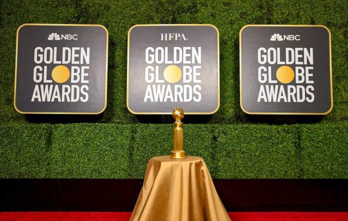 Golden Globes 2021 red carpet