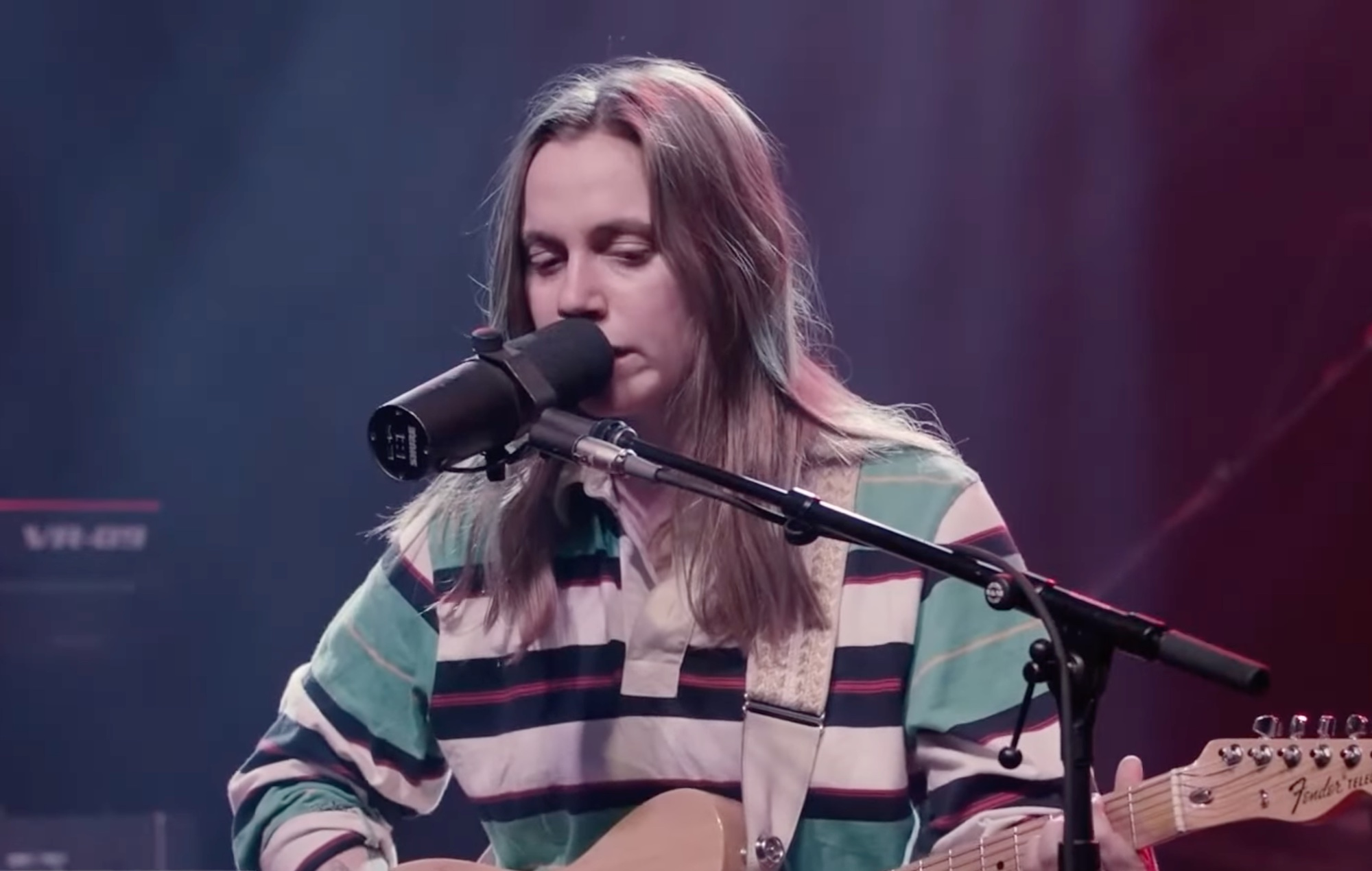 Julien Baker brings 'Little Oblivions' songs to 'CBS This Morning'
