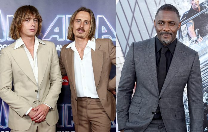 Watch Idris Elba join Lime Cordiale onstage during Sydney concert