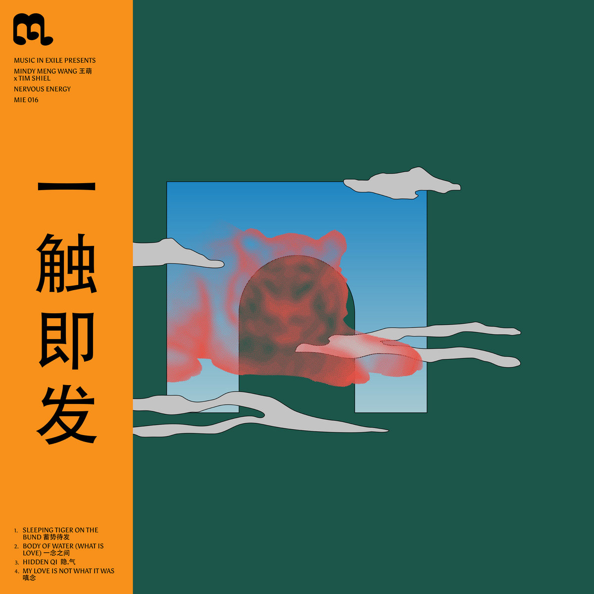 Mindy Meng Wang Tim Shiel new EP Nervous Energy Music In Exile