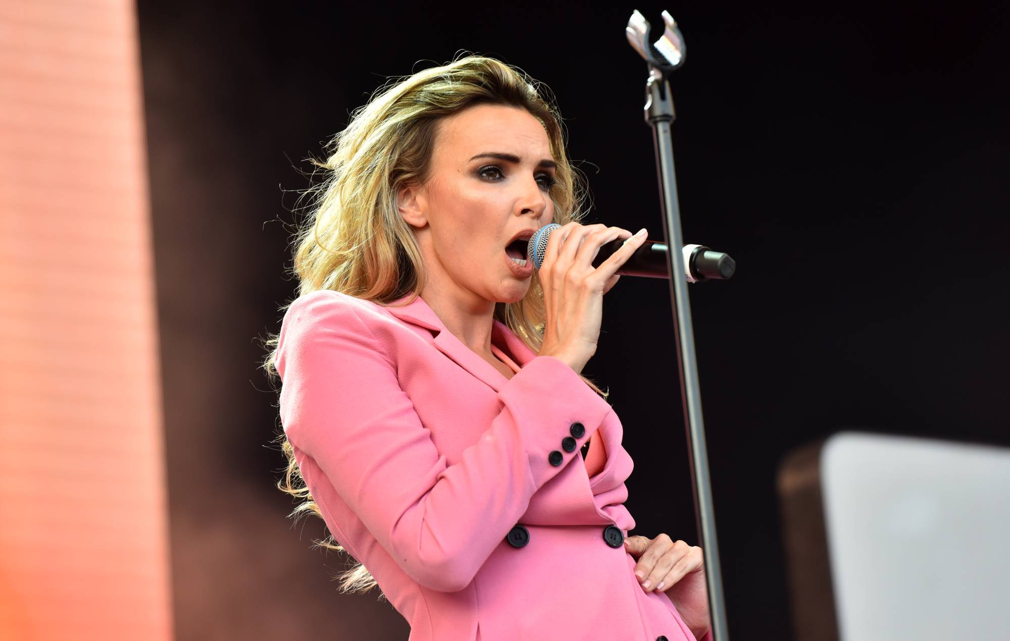 Nadine Coyle confirms Girls Aloud reunion is on hold