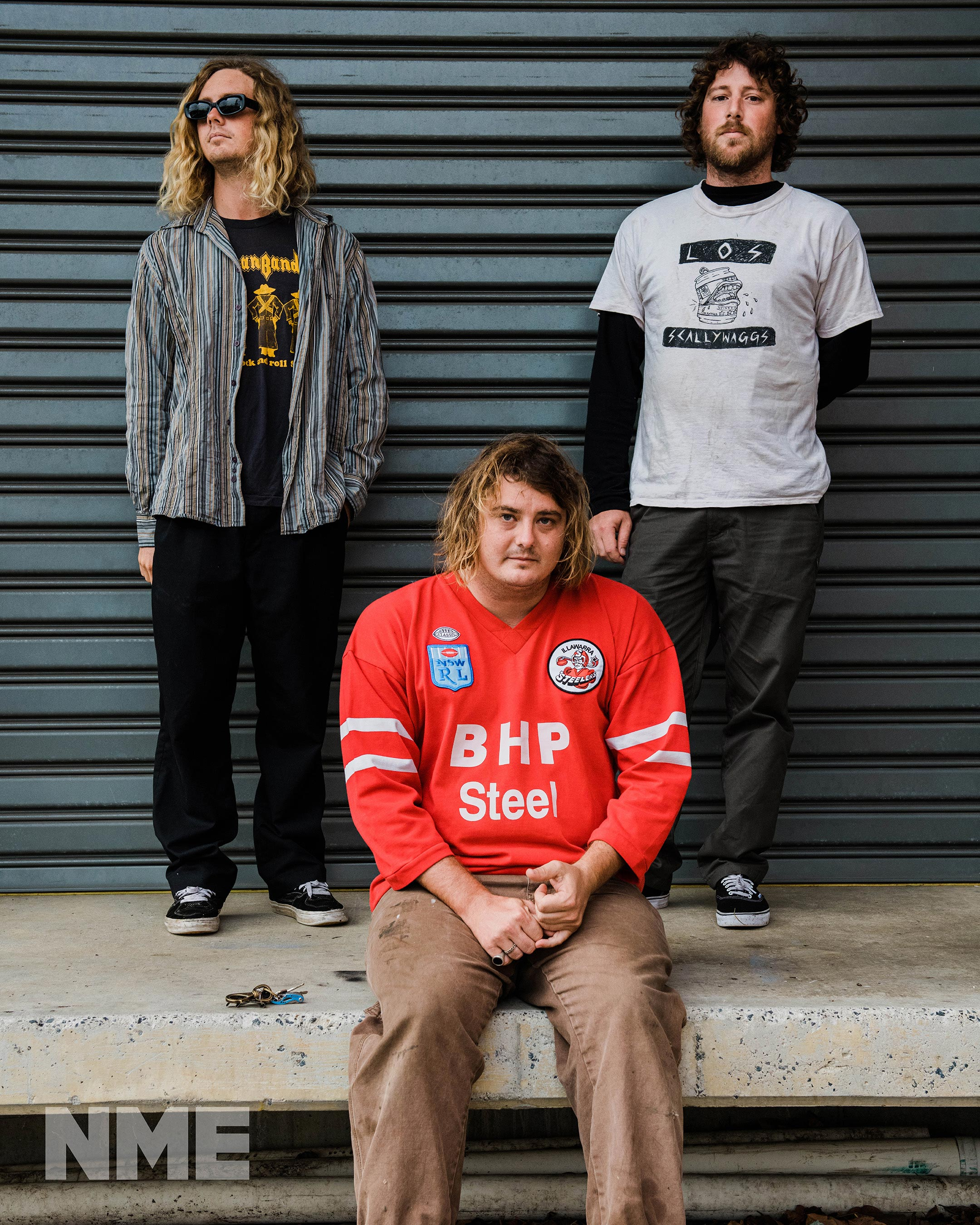 NME Australia Cover 2021 Skegss
