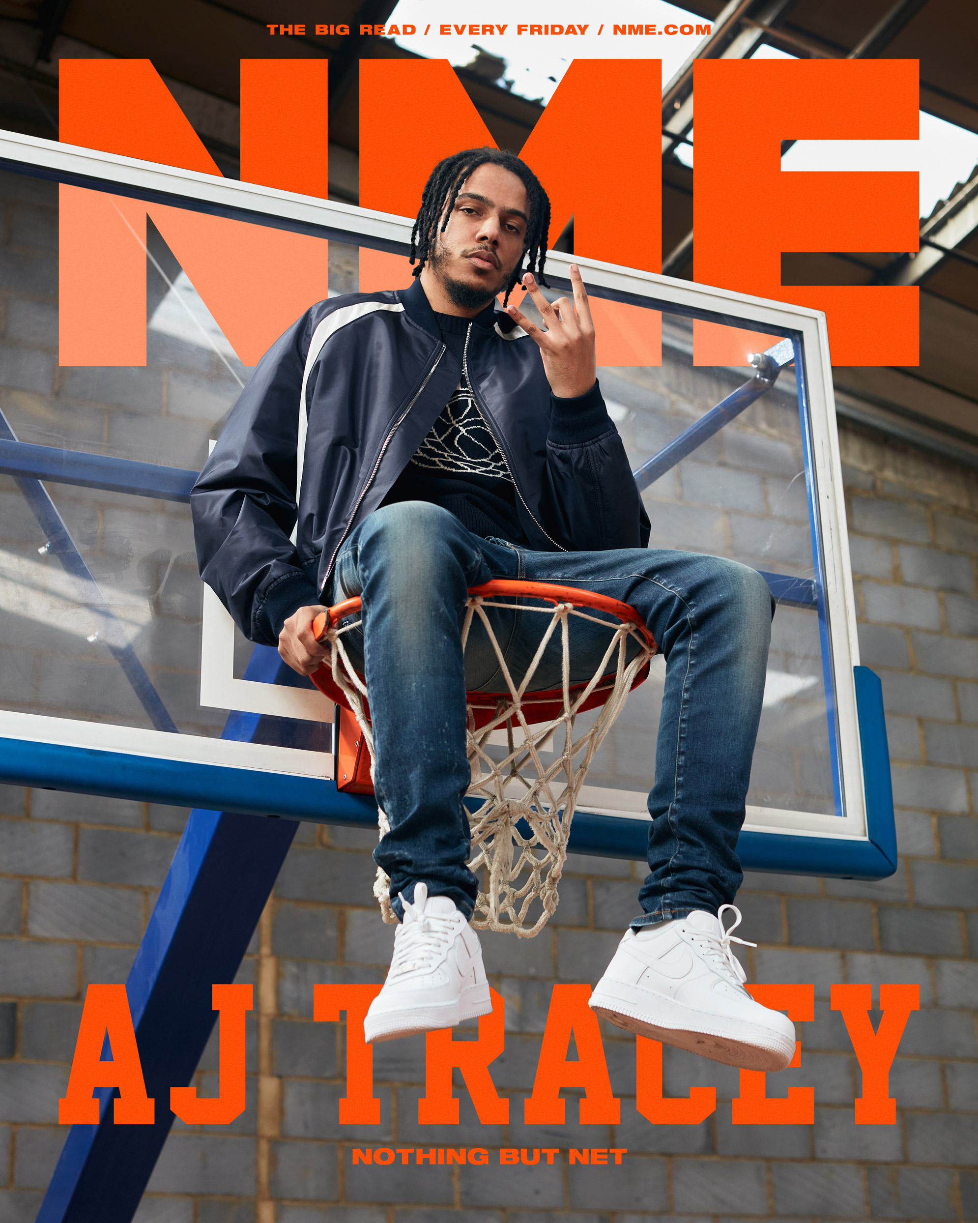 NME Cover 2021 AJ Tracey