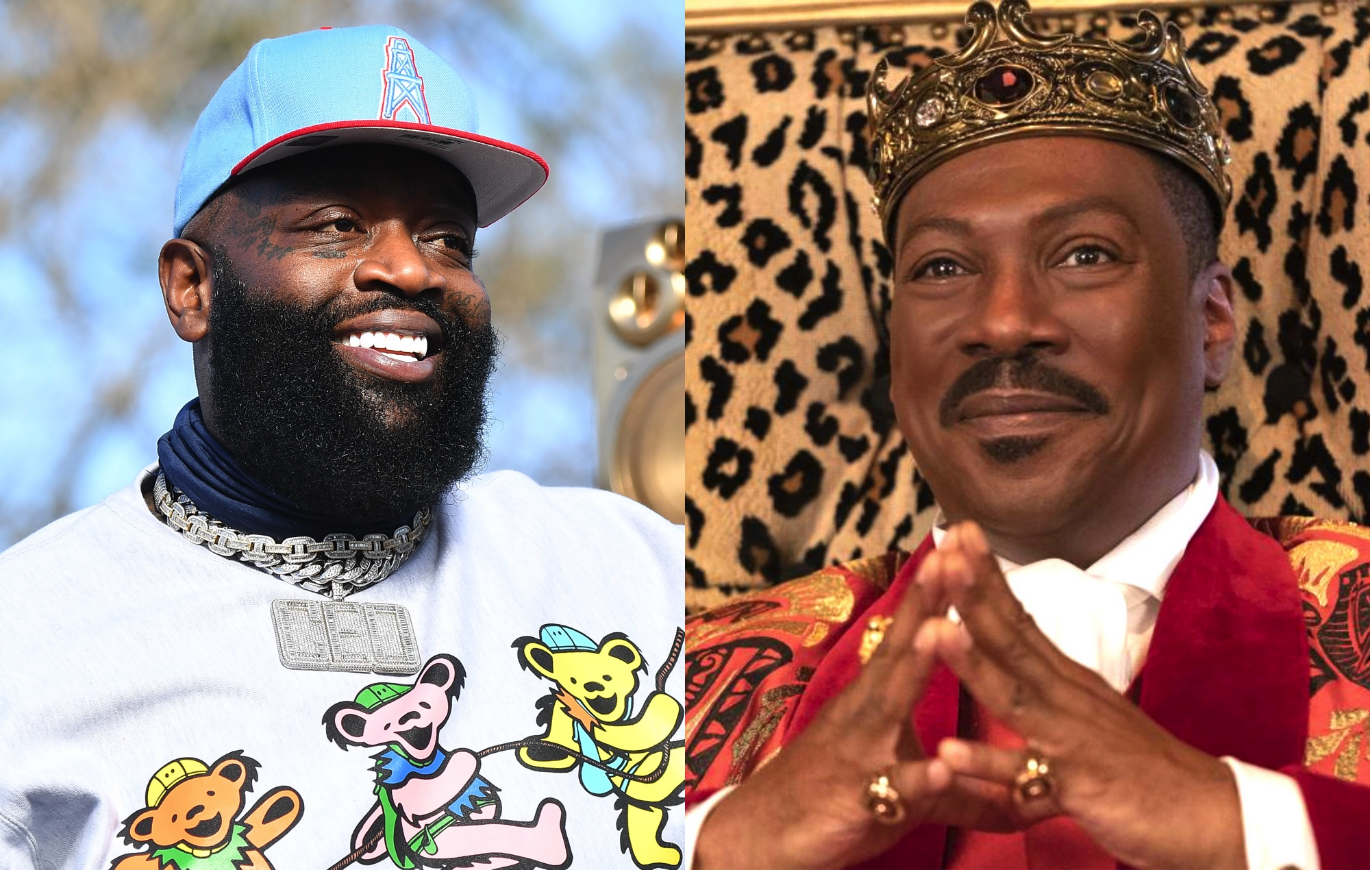 Rick Ross' actual home served as the Zamundan palace in 'Coming 2 America'