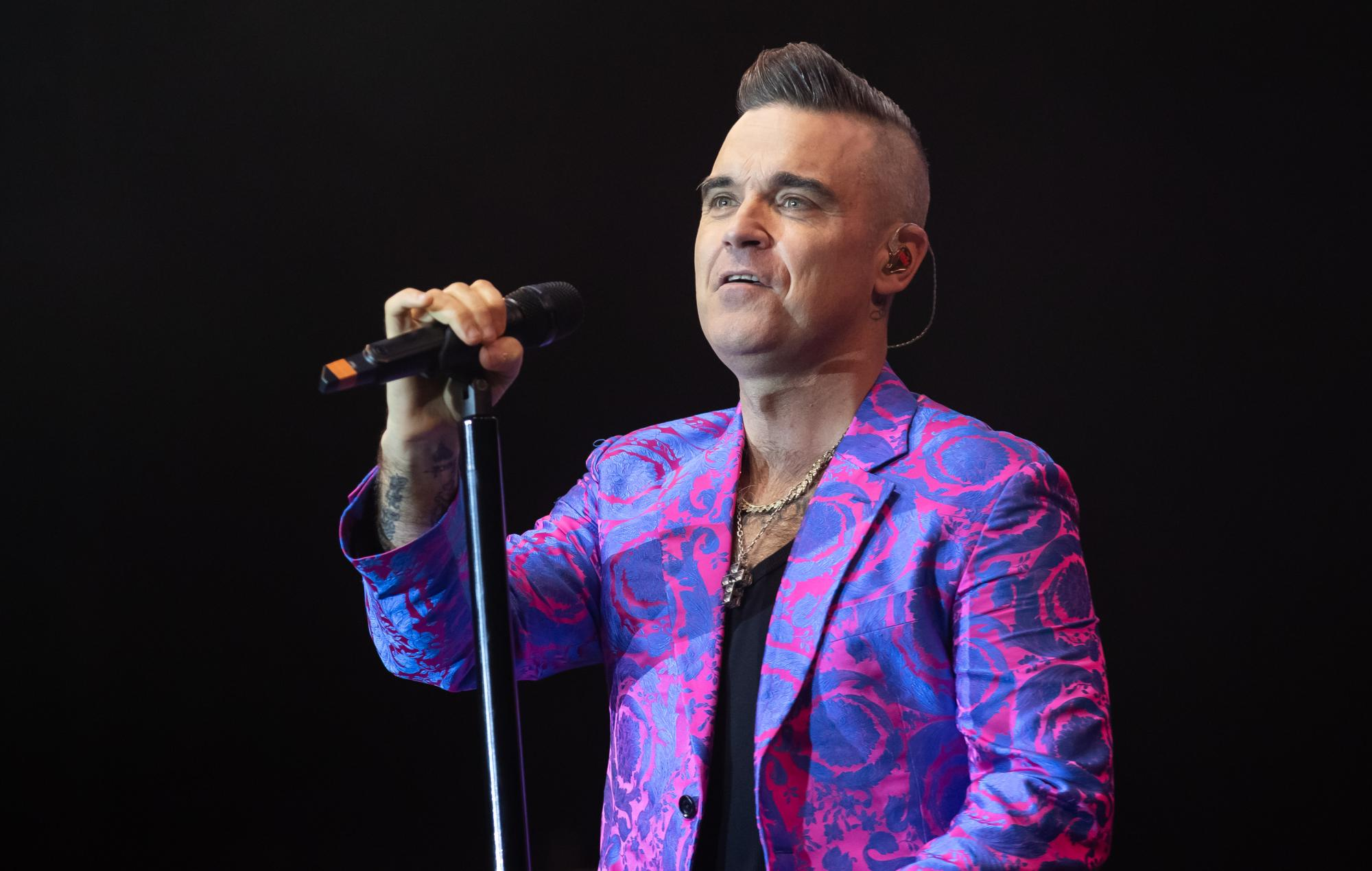 Robbie Williams biopic 'Better Man' will give his songs the 'Rocketman' treatment