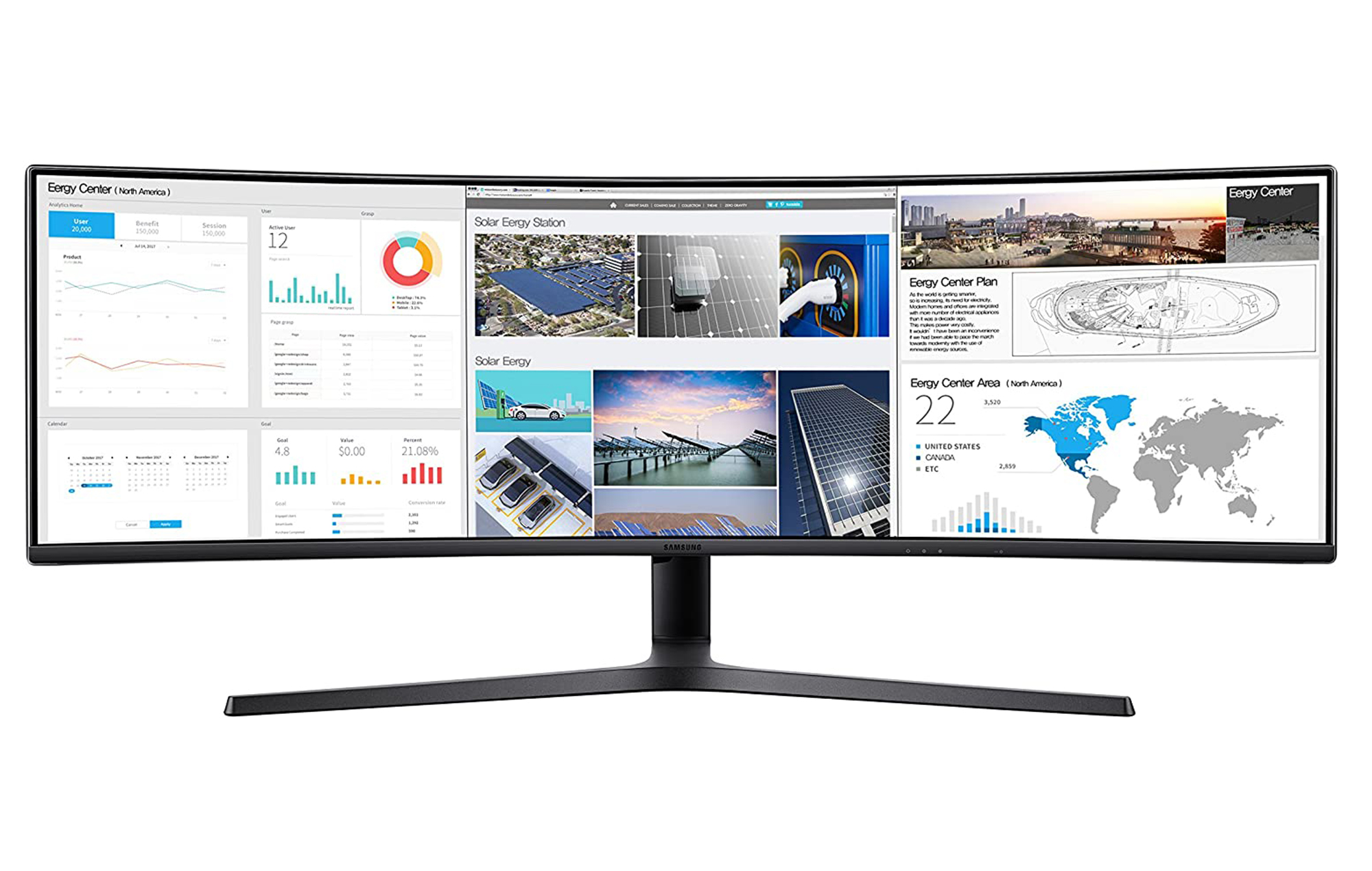 Samsung C49J89 curved monitor