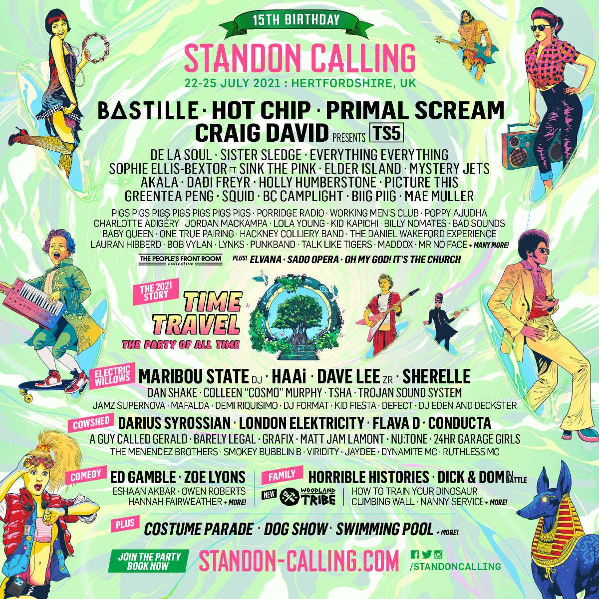 Standon Calling 2021 line-up