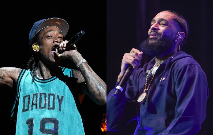 Wiz Khalifa and Nipsey Hussle