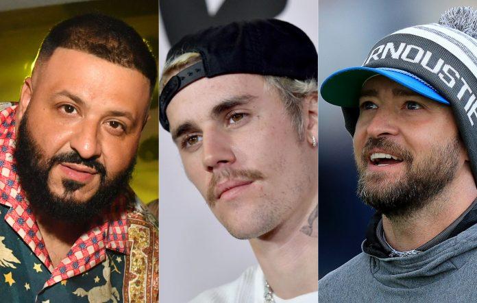 DJ Khaled, Justin Bieber, Justin Timberlake