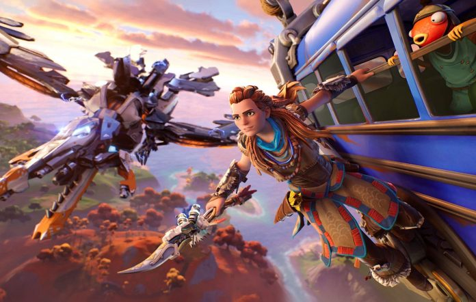 Aloy from Horzion Zero Dawn in Fortnite