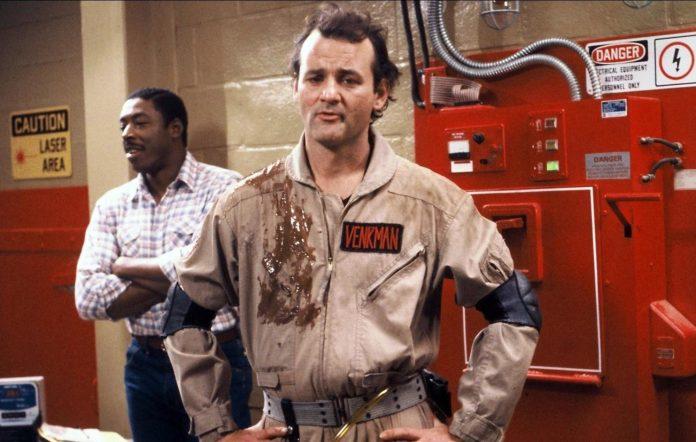 Bill Murray in 'Ghostbusters'