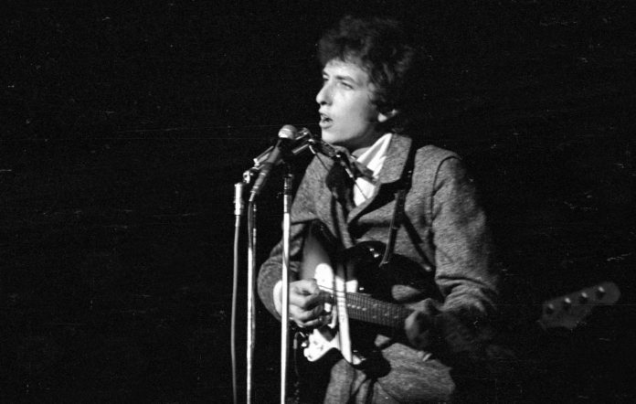 Bob Dylan guitar auction