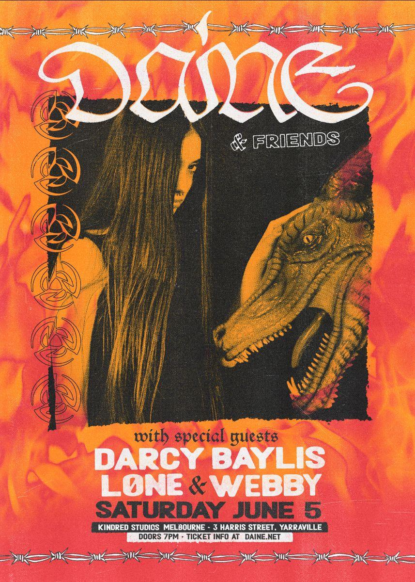Daine poster