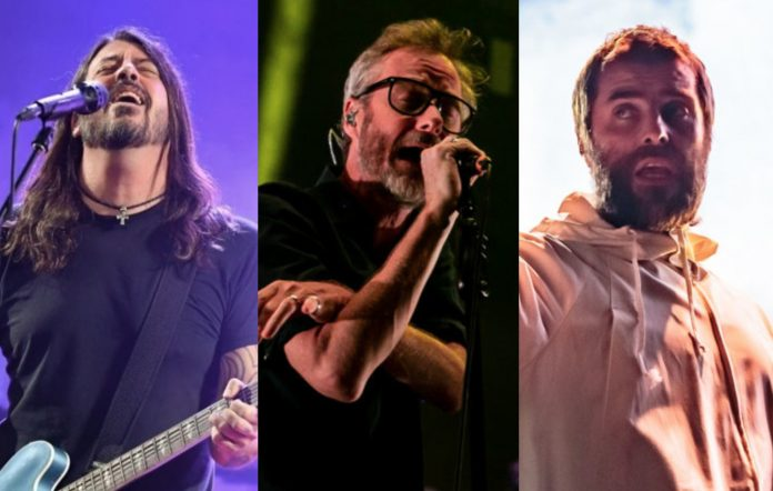 Rock In Rio - Dave Grohl, Matt Berninger and Liam Gallagher