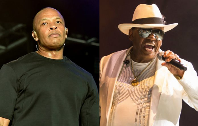 Dr. Dre and Ron Isley