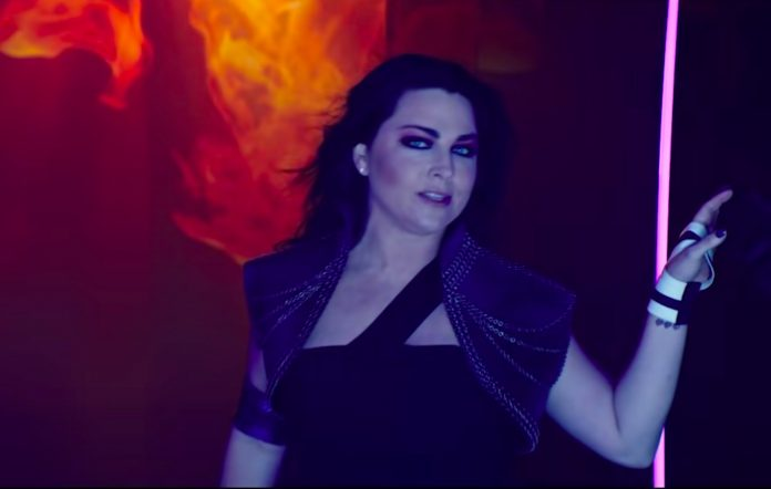 Still from Evanescence's 'Better Without You' video