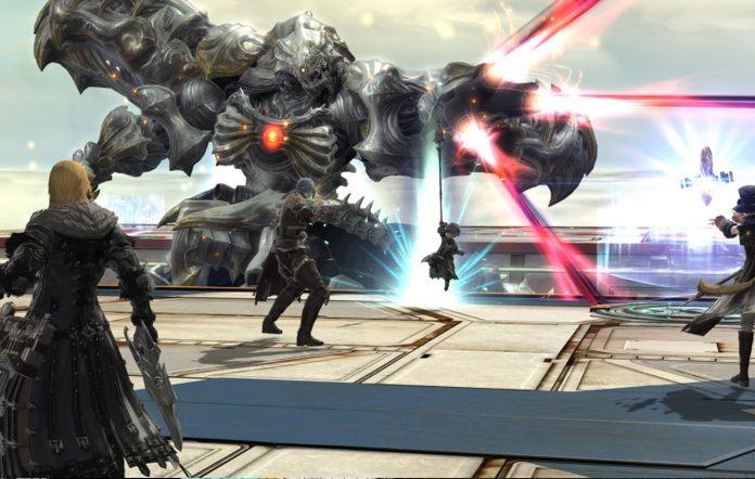 Final Fantasy XIV Diamond Weapon