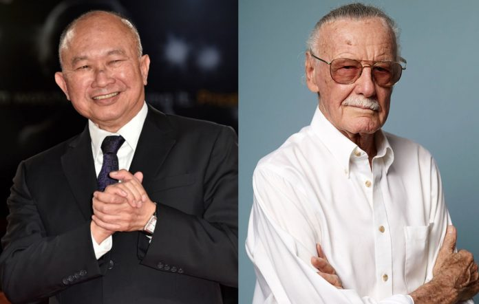 John Woo and Stan Lee