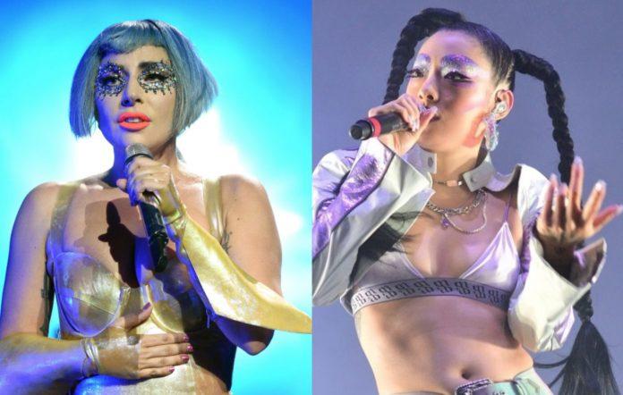Lady Gaga and Rina Sawayama