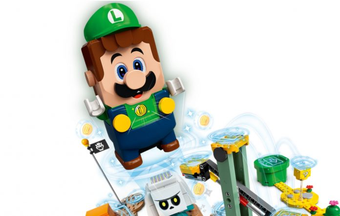 LEGO Super Luigi Starter Course