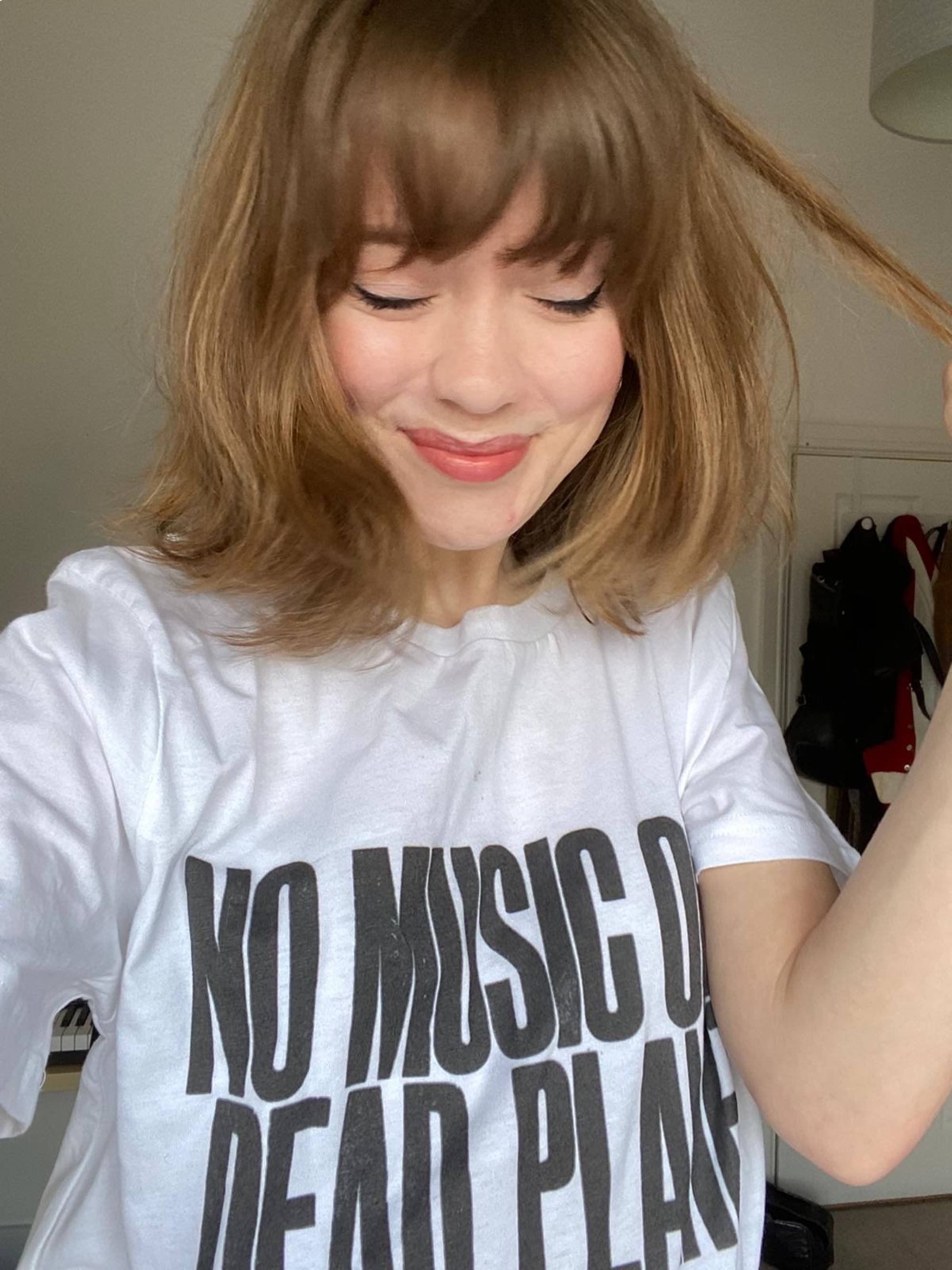 Maisie Peters lends her support to No Music On A Dead Planet. Credit: Press