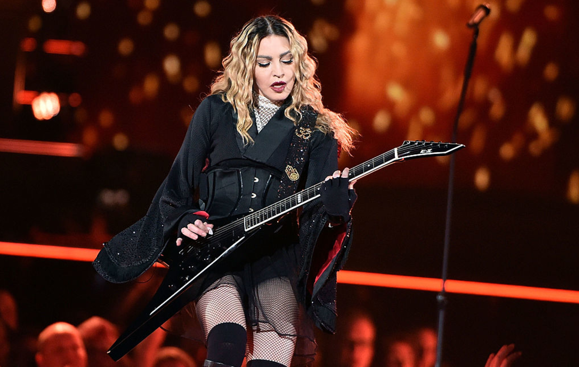"""Madonna calls for gun control in the US to be treated like """"the new vaccination"""""""