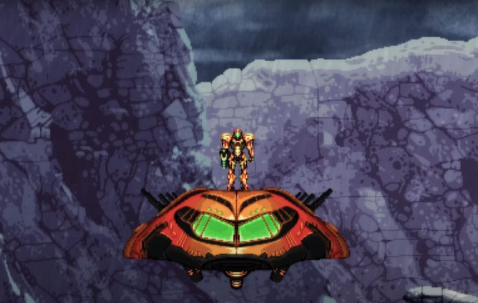 Metroid Prime 2D demo