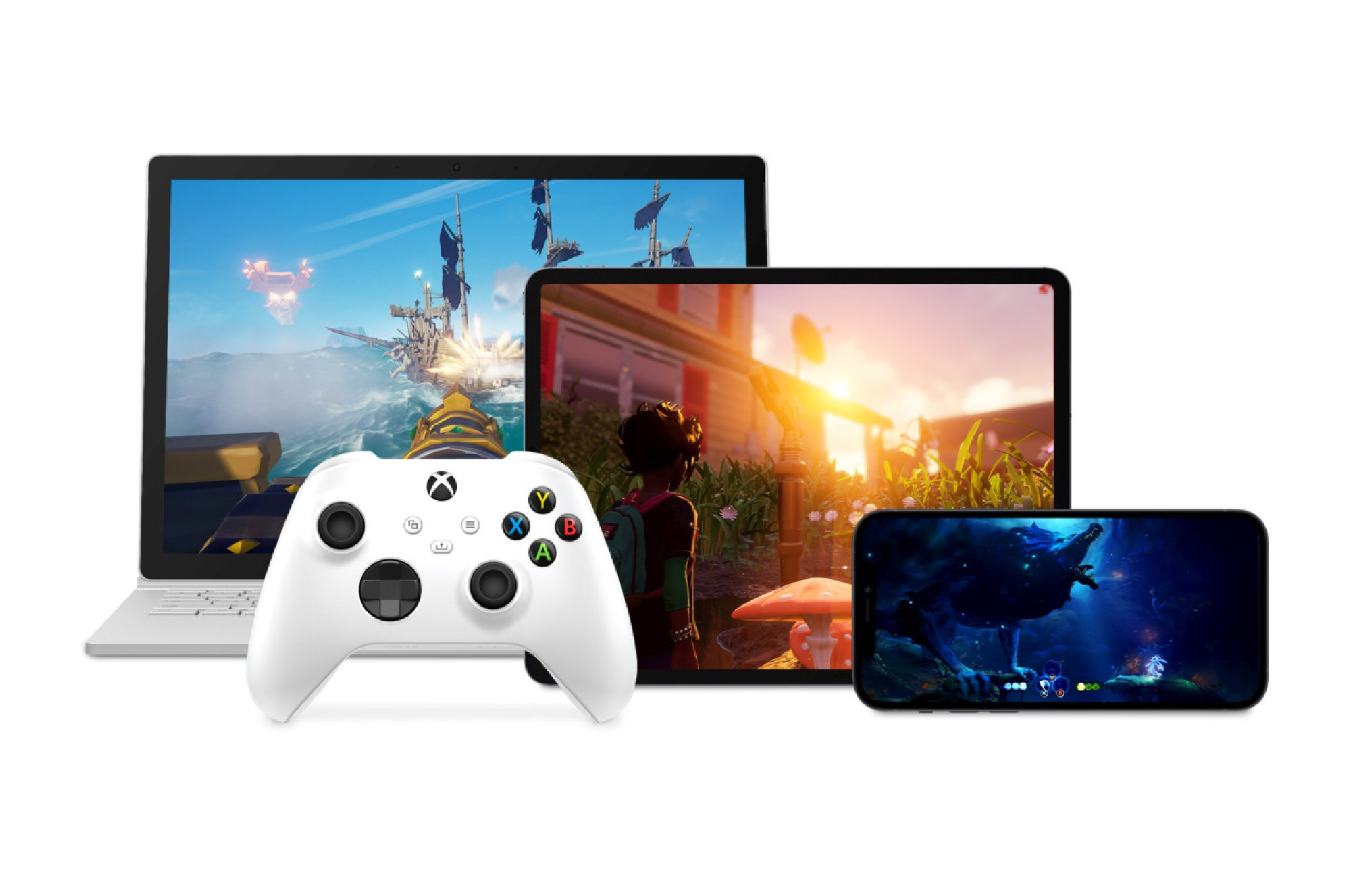 Microsoft Cloud Gaming Controller and iOS Devices