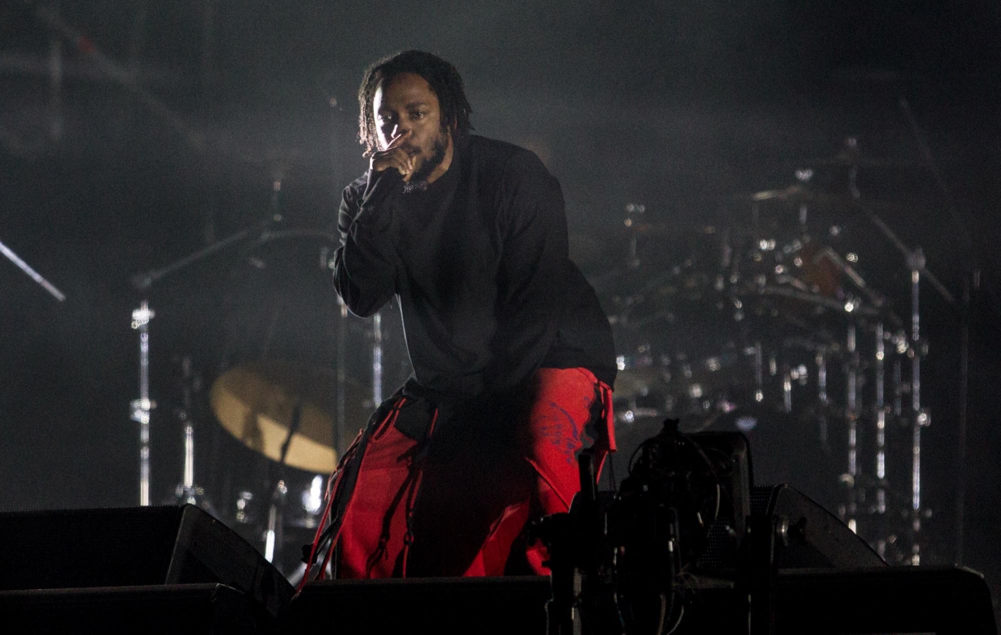 New music from Kendrick Lamar.