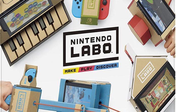 Nintendo Labo Kit. Image Credit: Nintendo