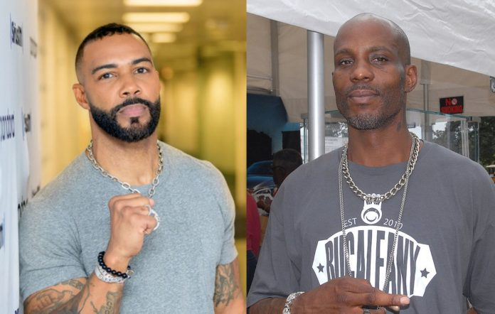 Omari Hardwick and DMX