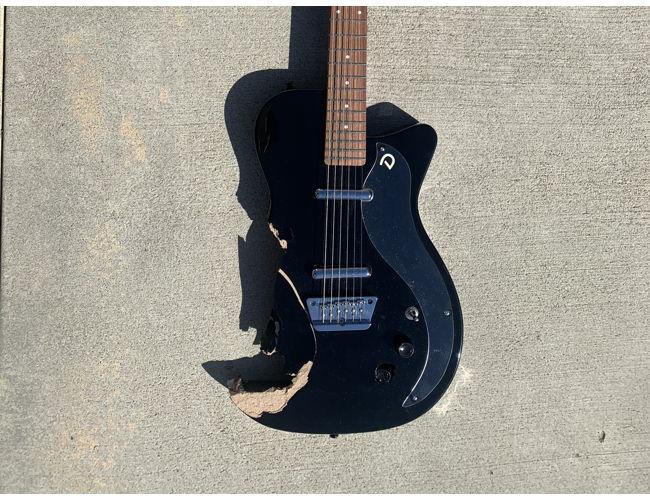 Phoebe Bridgers' smashed guitar