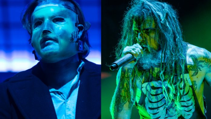 Slipknot and Rob Zombie