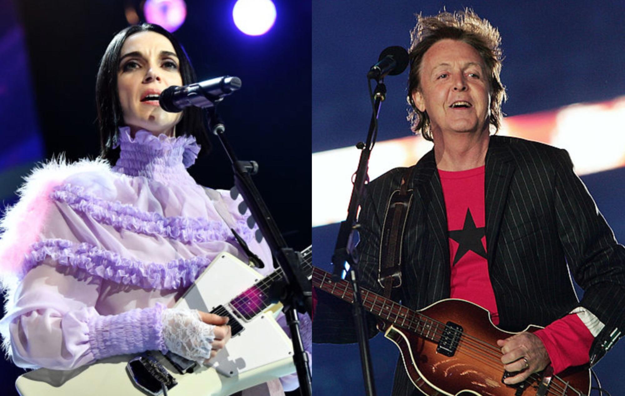 St. Vincent and Paul McCartney