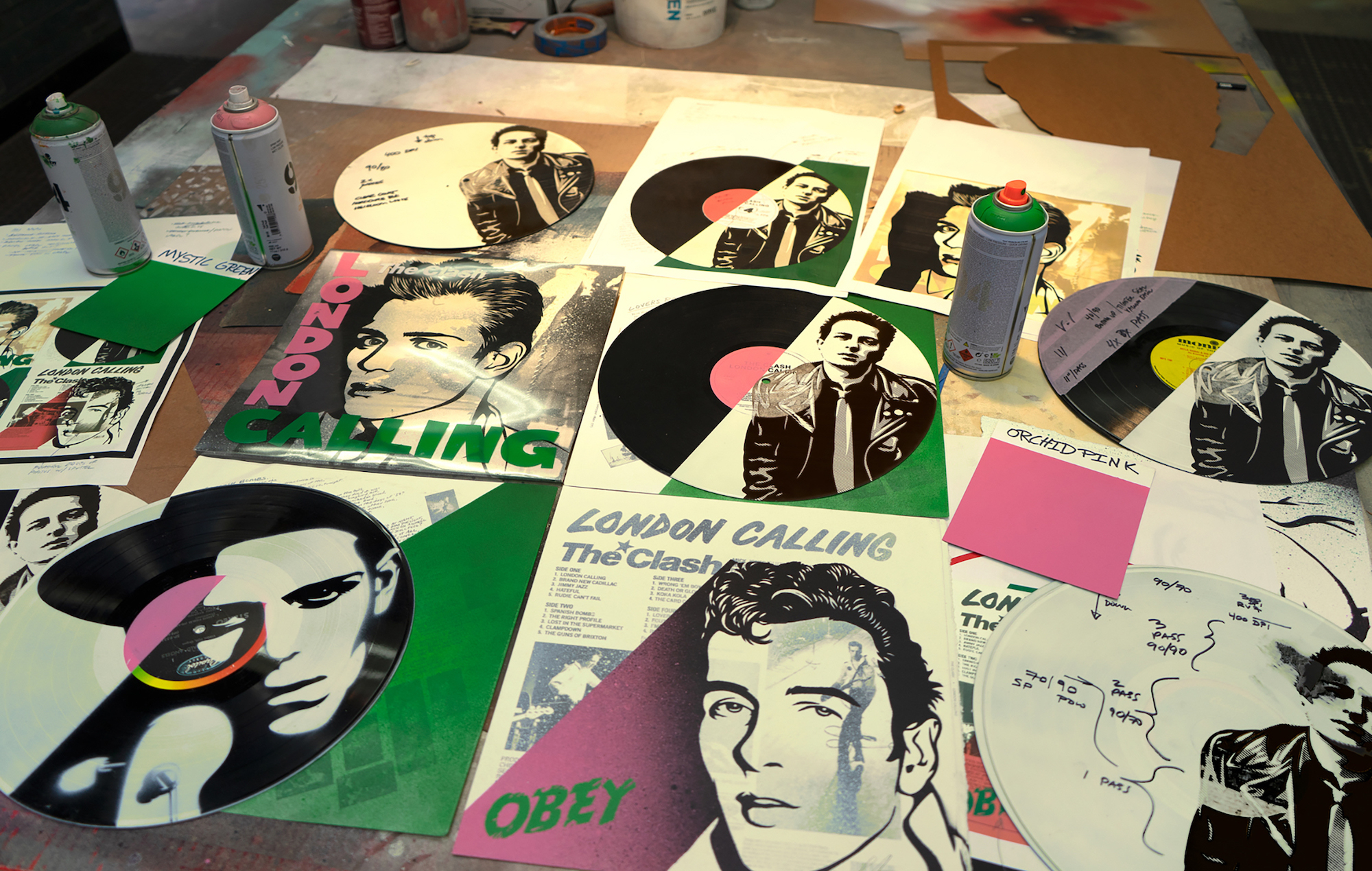 Arctic Monkeys, The Clash and more donate rare vinyl to charity exhibition