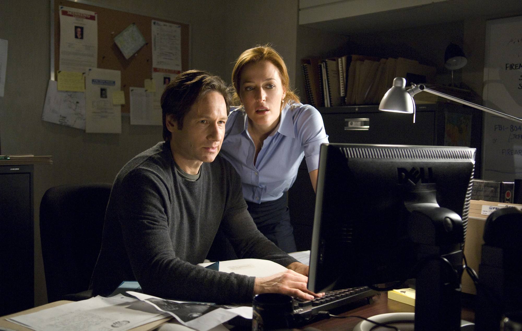 'The X-Files' David Duchovny and Gillian Anderson