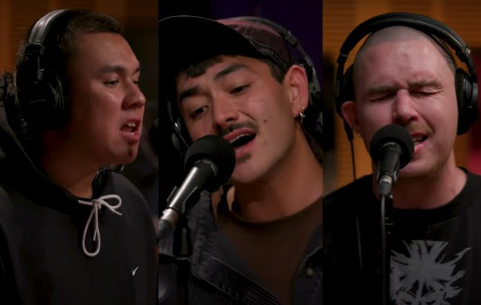 Watch Triple One put their spin on Cyndi Lauper's 'Time After Time' for 'Like A Version'
