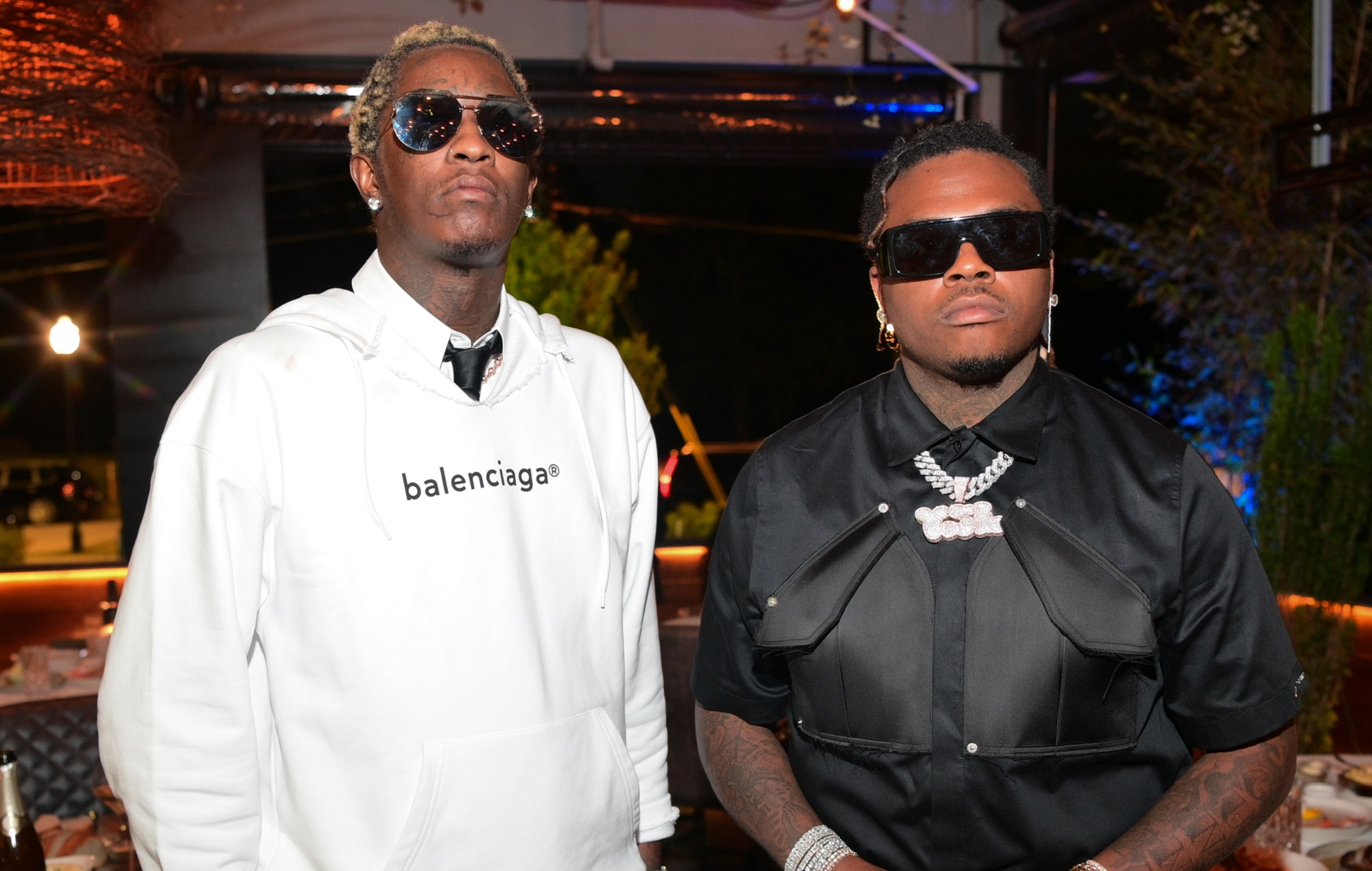 Young Thug and Gunna post bail for 30 people accused of low-level crimes