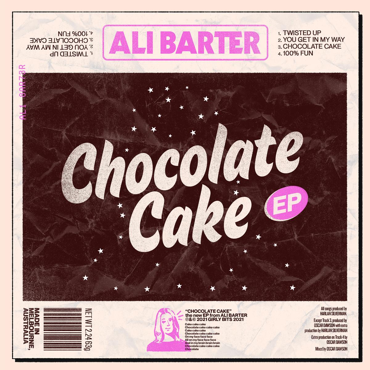 Ali Barter Chocolate Cake EP