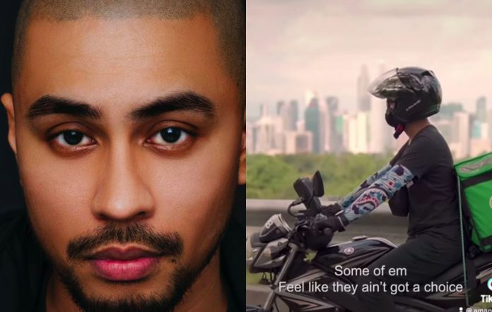 Aman RA Malaysia rapper spoken word video tribute to delivery drivers MCO pandemic deaths