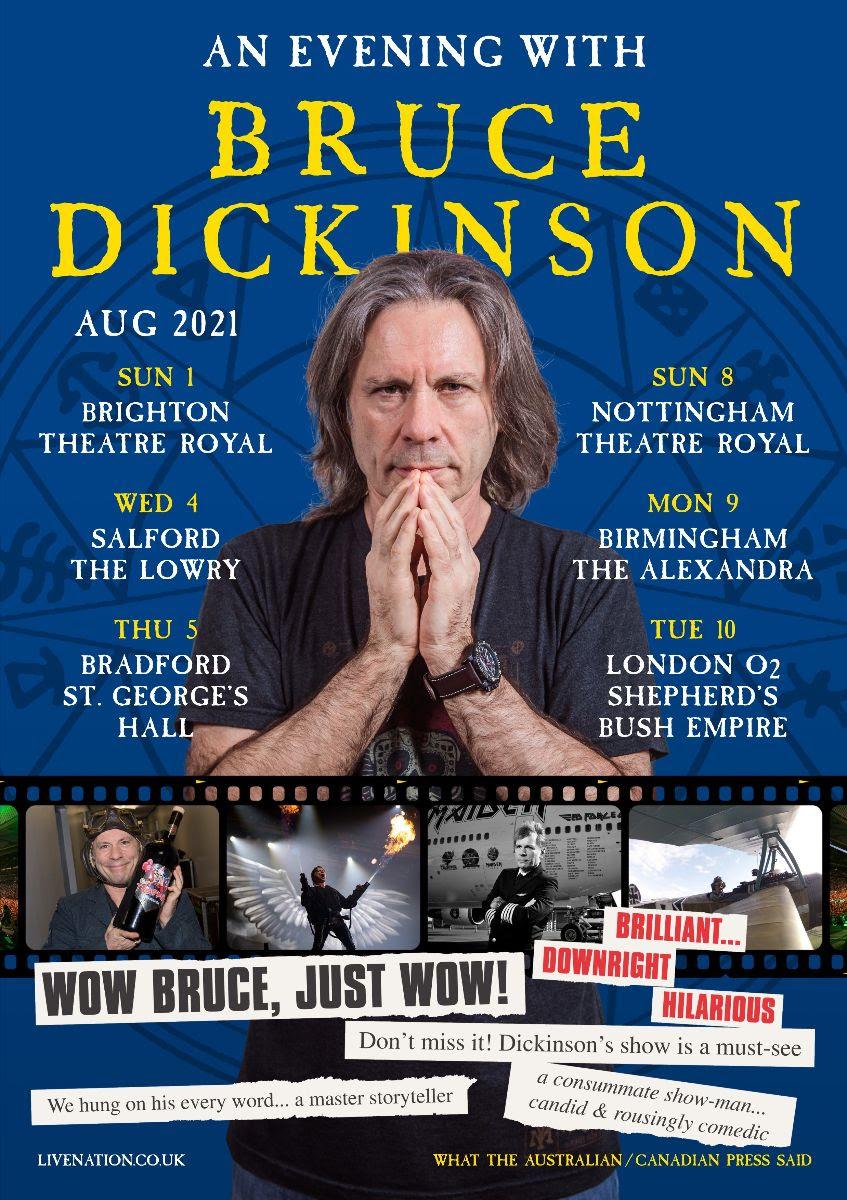 bruce dickinson tour
