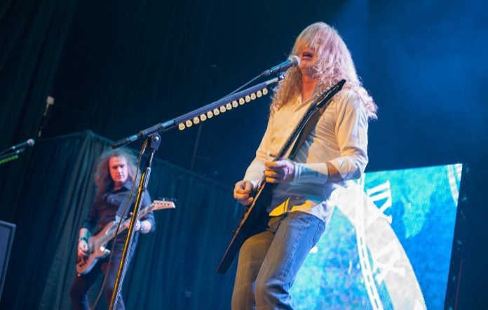 David Ellefson and Dave Mustaine of Megadeth