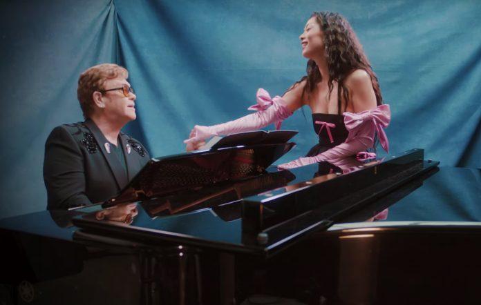 Rina Sawayama new version of Chosen Family featuring Elton John