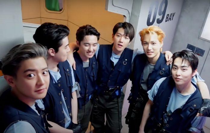 exo comeback youtube 040821