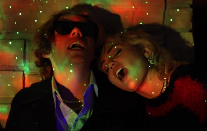 Kid LAROI Miley Cyrus remix Without You F*ck Love Savage music video