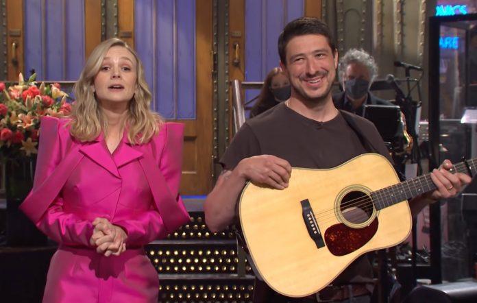Carey Mulligan and Marcus Mumford on 'Saturday Night Live'