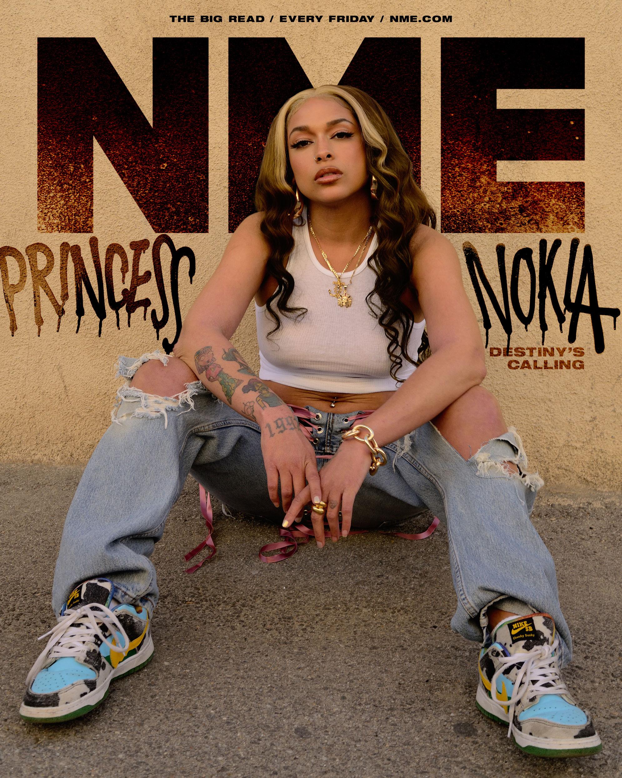 NME Cover 2021 Princess Nokia