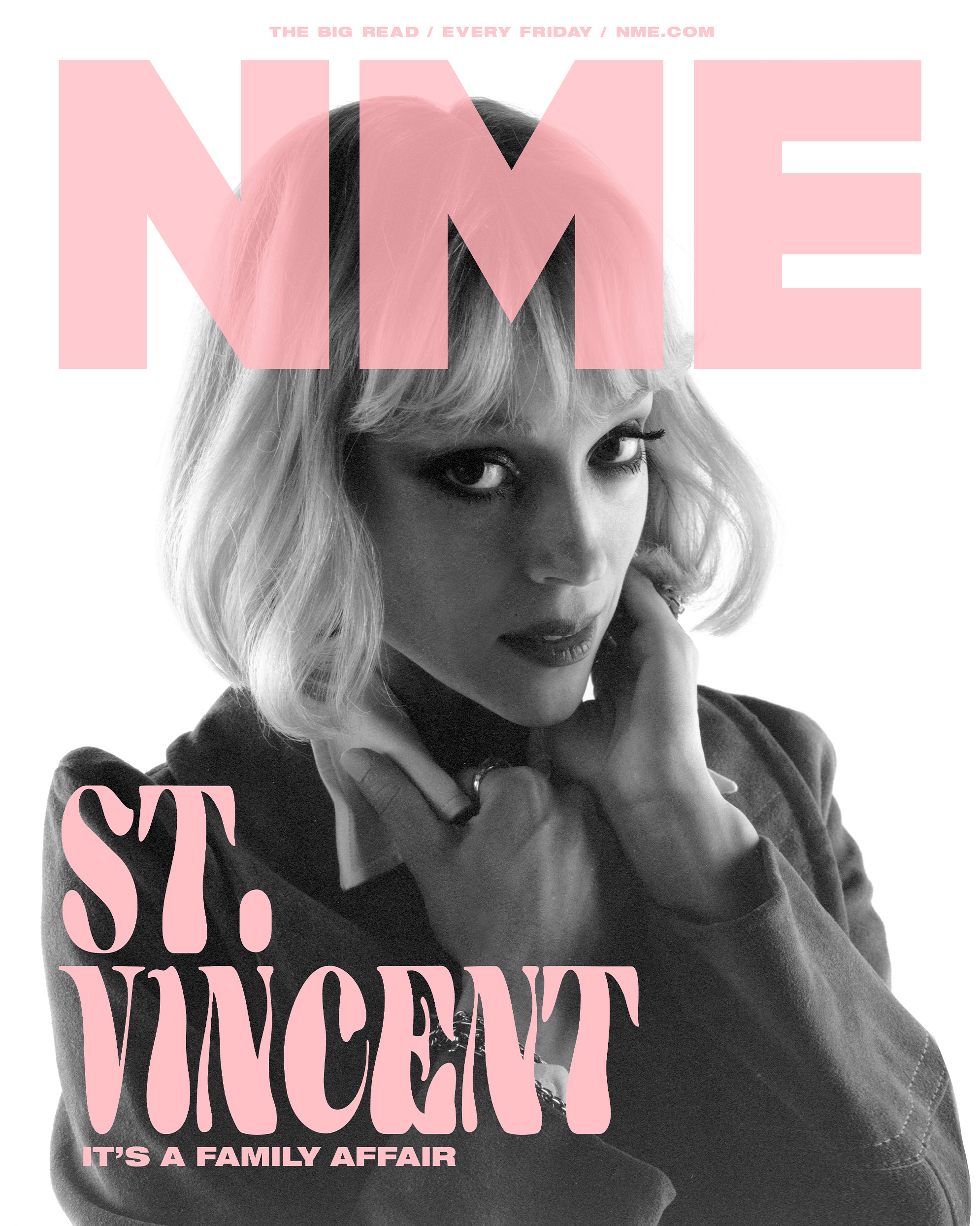 NME Cover 2021 St Vincent
